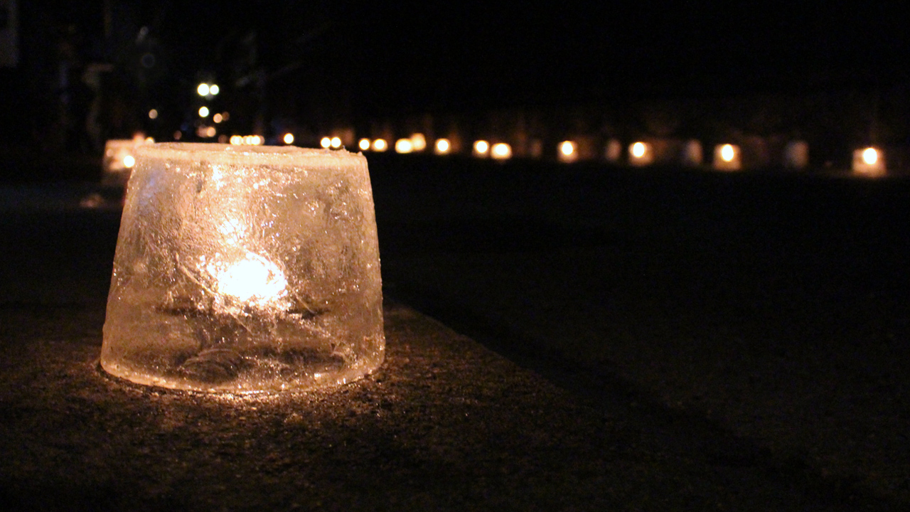 #25 Ice Candle Festival