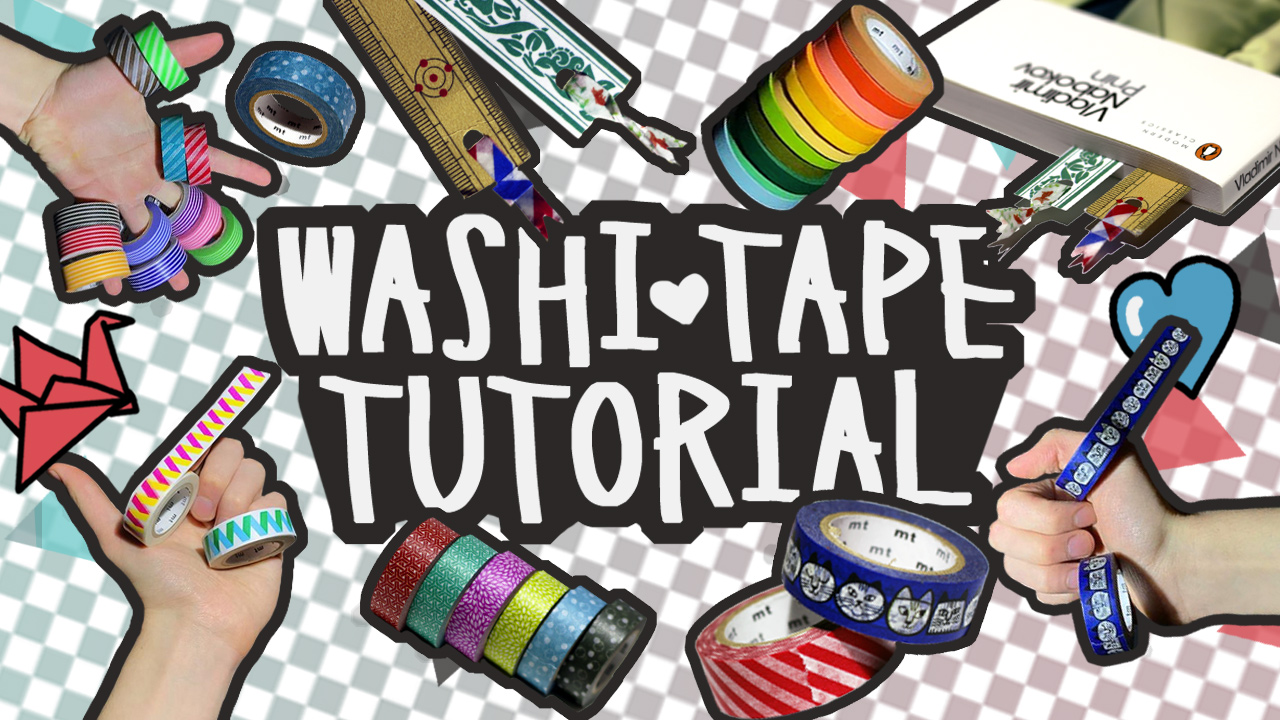 6 Things to do with Washi Tape
