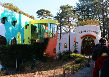 The Ghibli Museum in Mitaki-shi / Konbini
