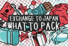What to Pack – School Exchange to Japan
