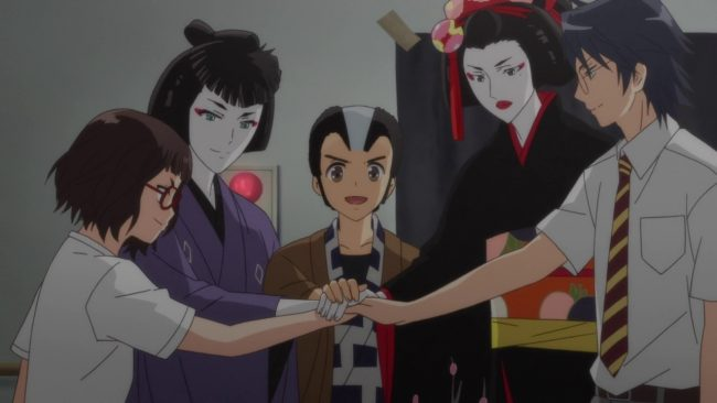 Anime about Japanese culture // Kabukibu