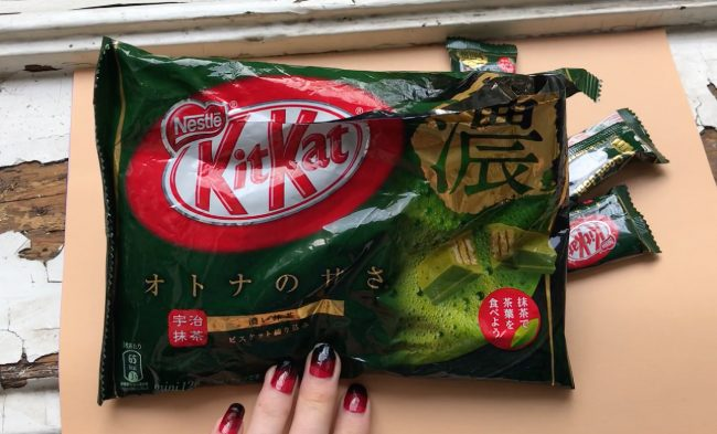 matcha kit kats – Japanese sweets
