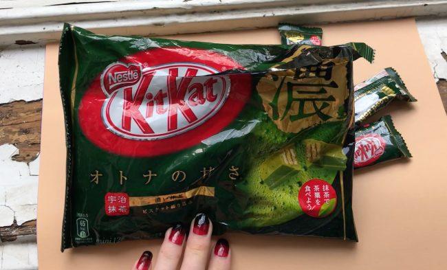 matcha kit kats – Japanese sweets