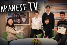 I was on Japanese TV
